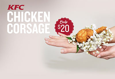 KFC Chicken Corsage