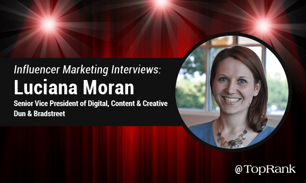 Influencer Marketing Interview with Luciana Moran