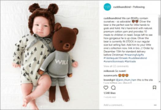 Purpose-Driven Brand Cuddle and Kind