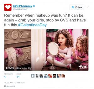 CVS Valentine's Day Marketing