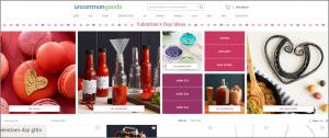 Uncommon Goods Valentine's Day Marketing