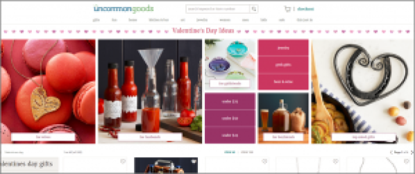 Uncommon Goods Valentine's Day Marketing
