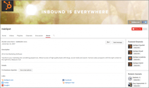 HubSpot on YouTube