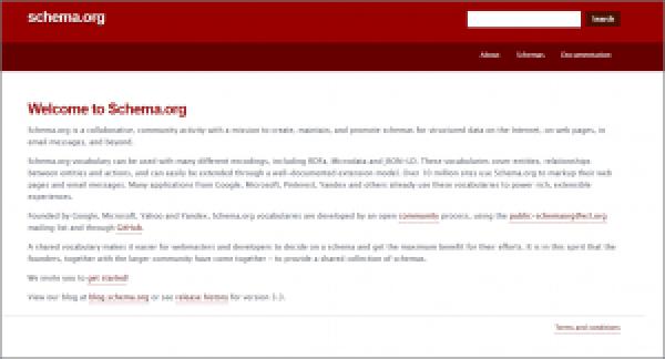 Schema.org Homepage