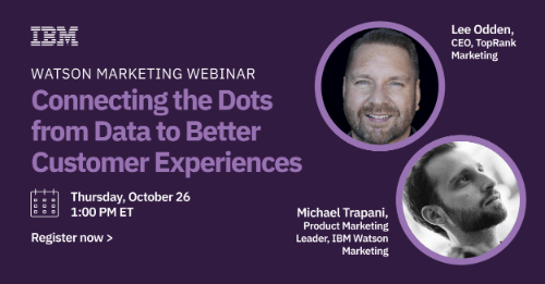 Connecting Dots from Data to Experiences
