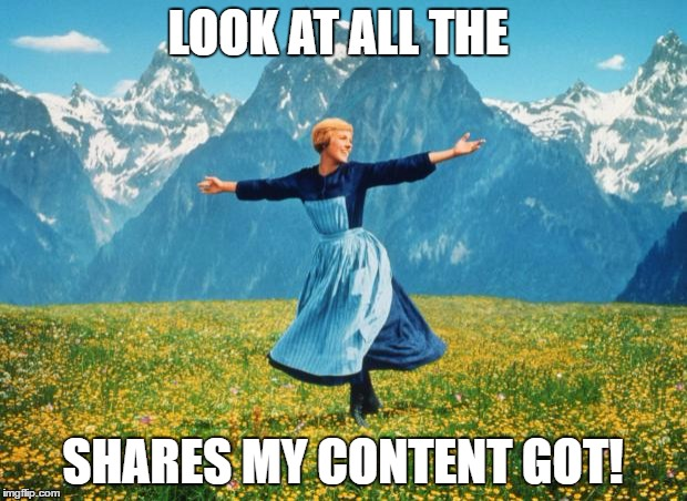 Julie Andrews from Sound of Music Laments her Lack of Content Marketing Success