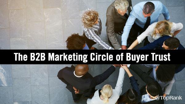 B2B Marketing Circle Buyer Trust
