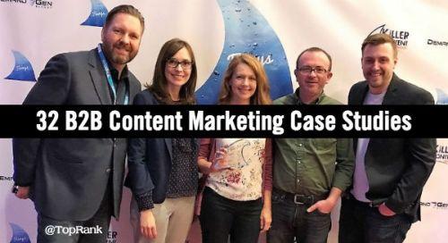 B2B Content Marketing Case Studies