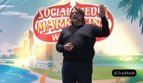 Chris Brogan at Social Media Marketing World 2019
