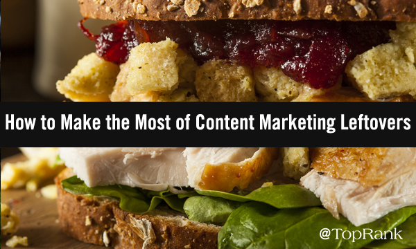 How to Repurpose Content Marketing Leftovers