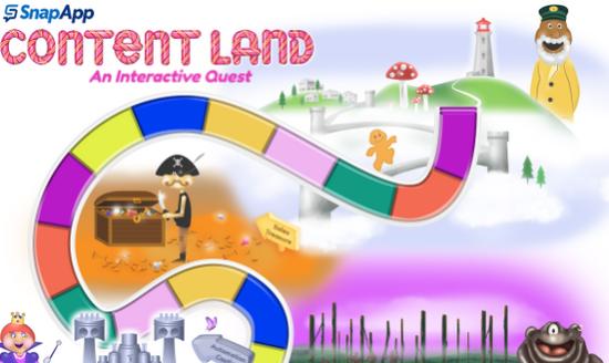 SnapApp Interactive Content Land Example