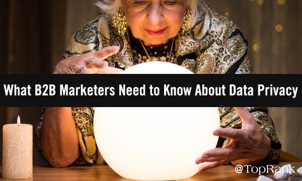 Data Privacy in B2B Marketing