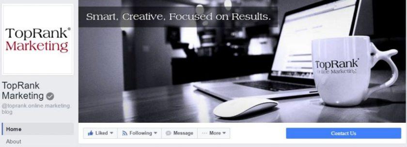 TopRank Marketing on Facebook