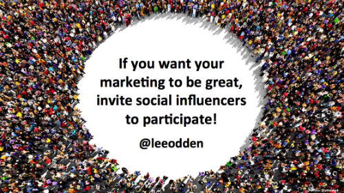 If You Want Your Marketing to Be Great, Ask Social Influencers to Participate.