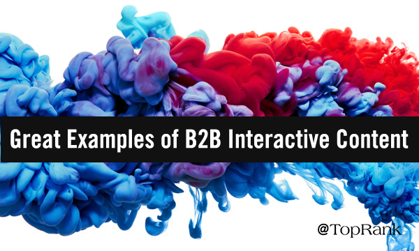 B2B Interactive Content Examples
