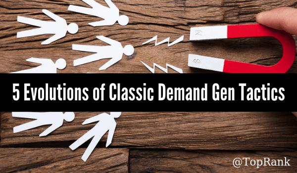 New Demand Gen Tactics