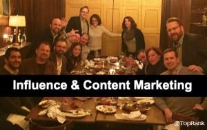 Influence Content Marketing