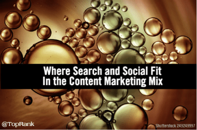 search and social fit