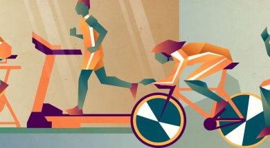 running vs spinning