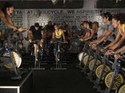 spinning bike class