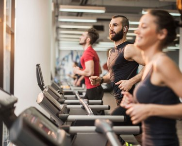 treadmill run fun