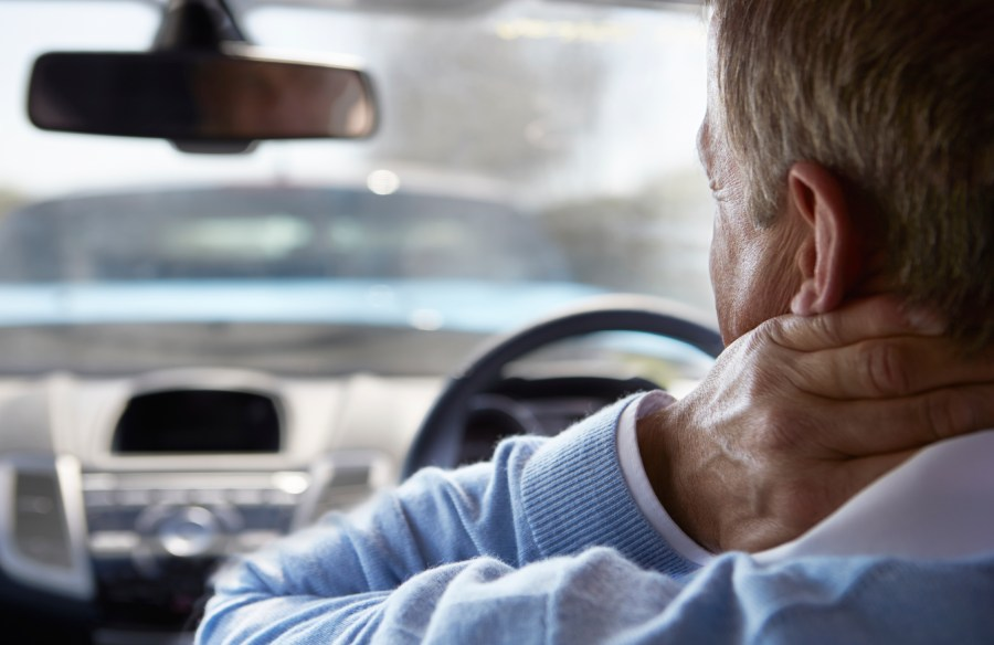 whiplash neck pain car accident