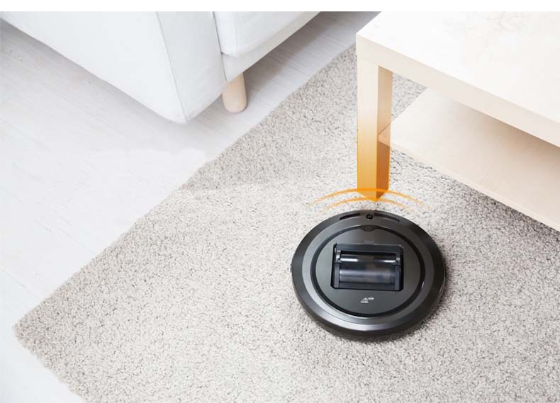 Puppyoo best robotic vacuum cleaner review from Aliexpress - Powerful sensors.