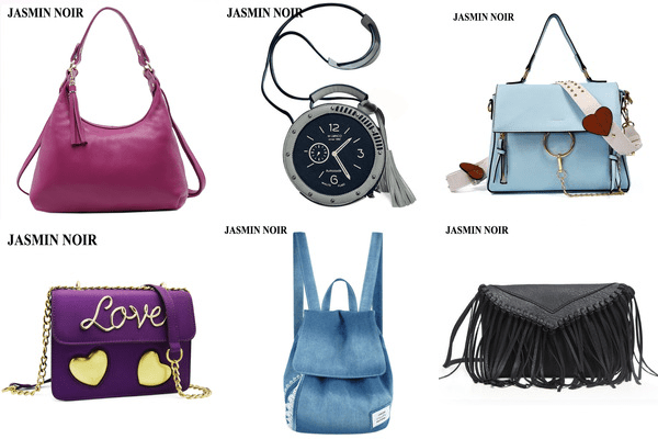 Jasmin Noir Aliexpress luxury brand bags review.