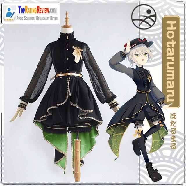 Touken Ranbu anime cosplay costumes - Hotarumaru Cosplay Dress skirt Anime costumes women