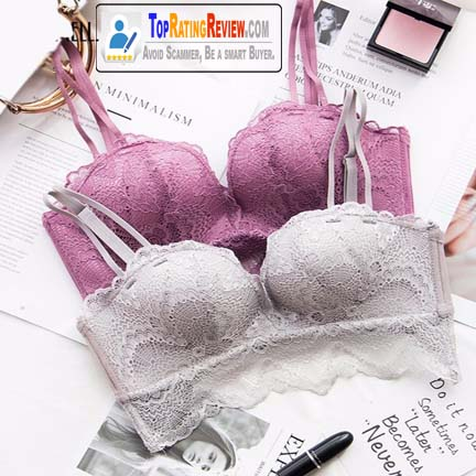 Beautiful Backless 4 colors Korean Bra