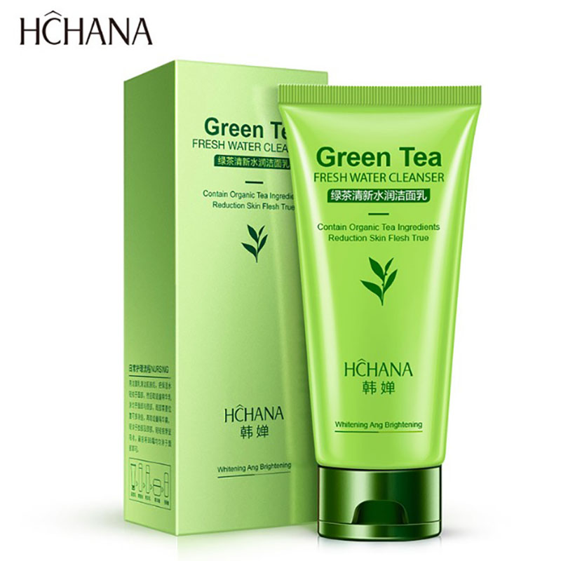 Green Tea Acne Treatment Facial Cleanser Anti Aging Natural Organic Gel Daily Face Wash Deep Pore Cleansing Skin Care