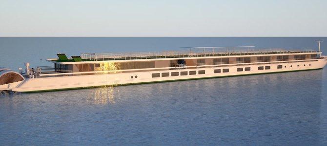 Croisieurope encarga un tercer barco de palas