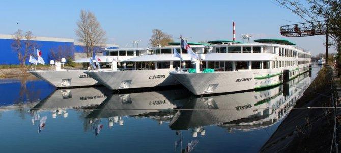 Croisieurope lanzará 7 nuevos barcos hasta finales de 2017