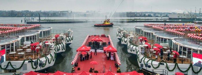 Viking River Cruises inaugura 6 barcos