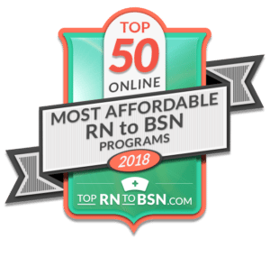 50 Most Affordable Online Rn To Bsn Programs 2018 Top Rn To Bsn