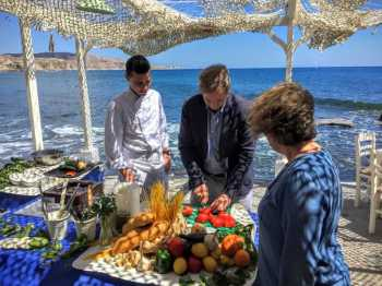 Santorini Cooking Class & Wine Tasting Tour