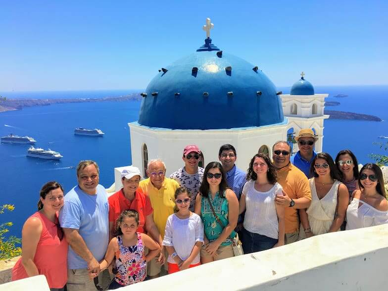 Santorini Sightseeing Private Guided Tour