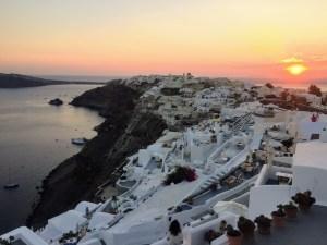 Экскурсия по северной части Санторини в Греции и фото тур деревня Ия