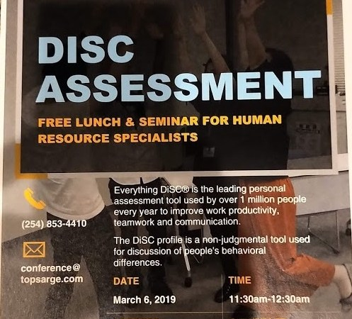free DiSC personality workshop