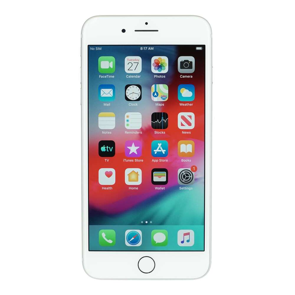 Apple Iphone 7 Plus 128gb Silver As New