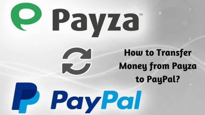 Payza to Paypal