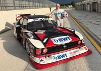 "Peter Mücke und der 540 PS Ford ""Zakspeed"" Turbo Capri © Mücke Motorsport"