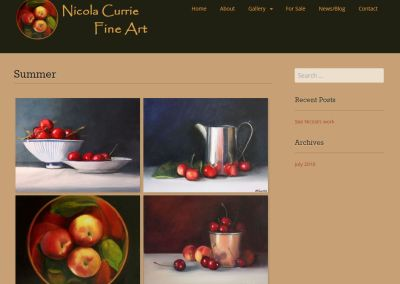 Nicola Currie Fine Art