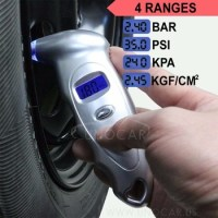 lighted digital tire gauge