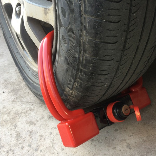 wheel clamp lock