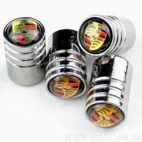 Chrome Alloy Valve Cap