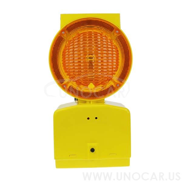 solar power led warning light