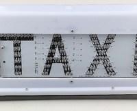 taxi light box