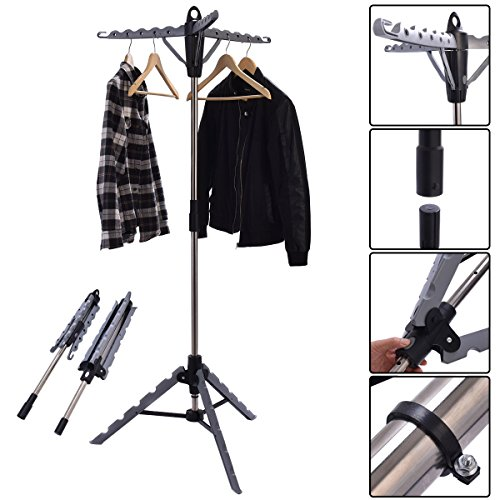 choice Portable Multifunctional Retractable Laundry Racks Tripod Products