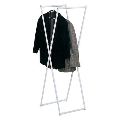 Ideaworks Hanging Clothes Rack White